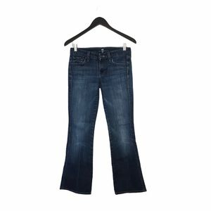 """7 For All Mankind """"A"""" Pocket MidRise MedWash Jeans"""